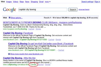 google region tag