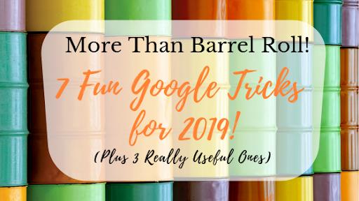More Than Barrel Roll: 7 Fun Google Tricks | Stikky Media