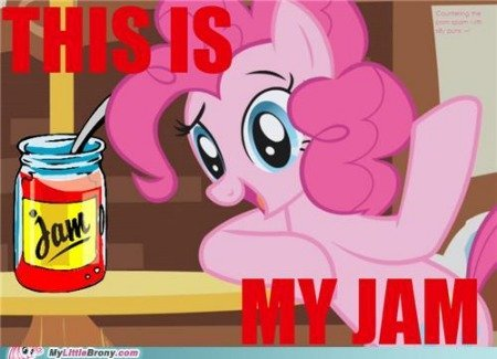my little pony friendship is magic brony this is my jam - Stikky Media