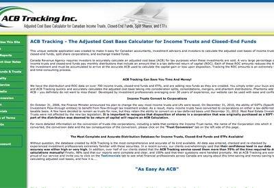 ACB Tracking