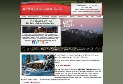 Big Bear Cabins California