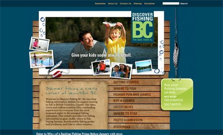 Discover Fishing BC