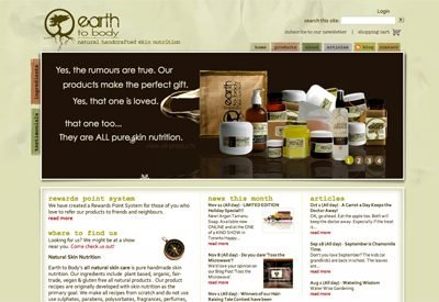 Earth to Body