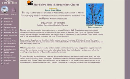 Nu-Salya Bed and Breakfast Chalet