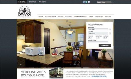 Swans Victoria BC Hotel