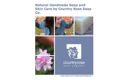 Country Rose Soap