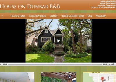 House on Dunbar Bed and Breakfast