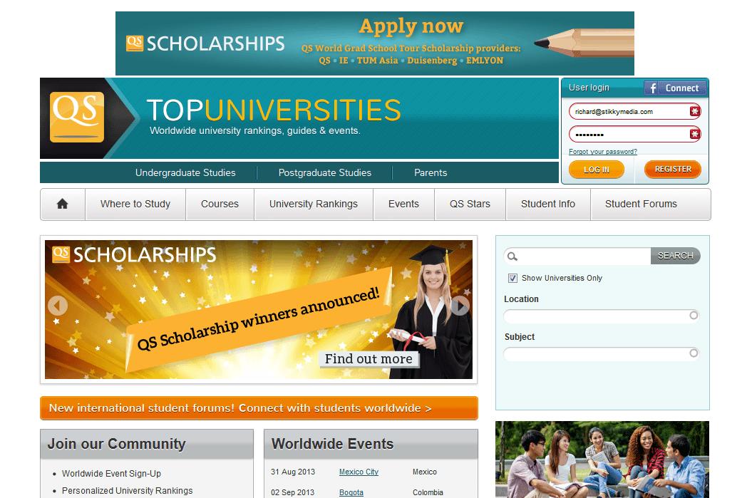 QS Top Universities