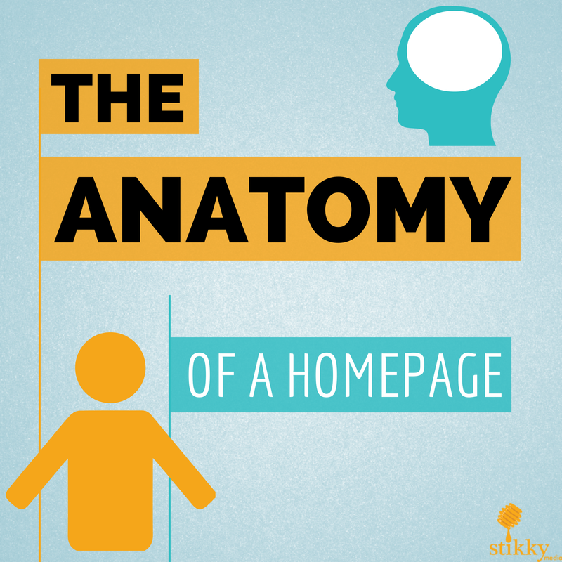 The marketing anatomy of a homepage