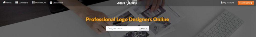 logo design ad