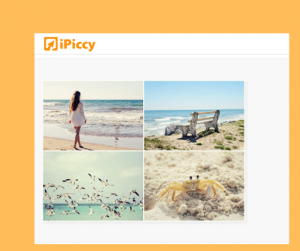 iPiccy interface