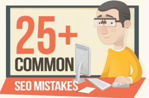 25 seo mistakes