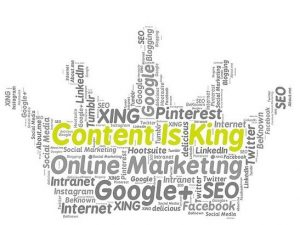 content is king - Stikky Media