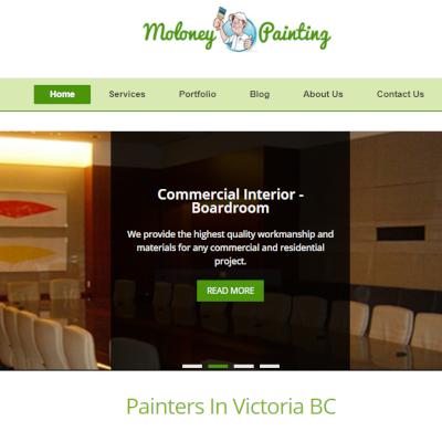 Moloney Painting website