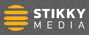 stikkylogo sideways white - Stikky Media