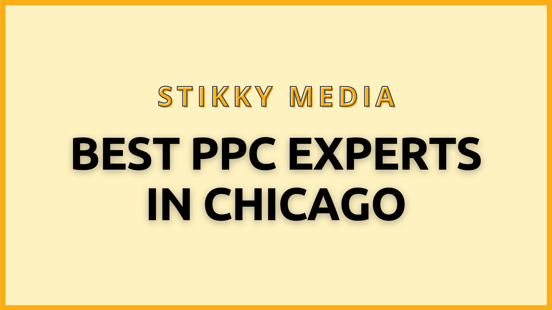 PPC Management in Chicago - Stikky Media