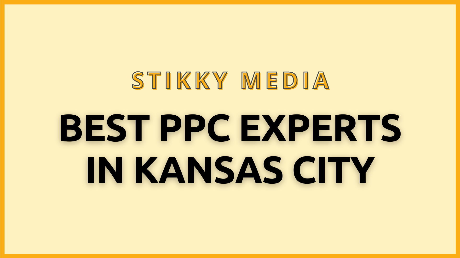 PPC Management in Kansas City - Stikky Media