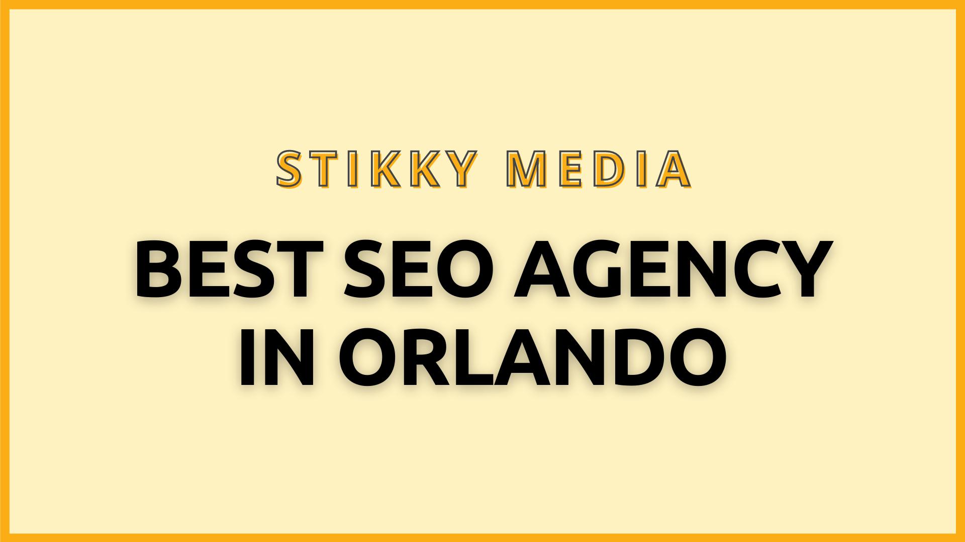 SEO services in Orlando - Stikky Media