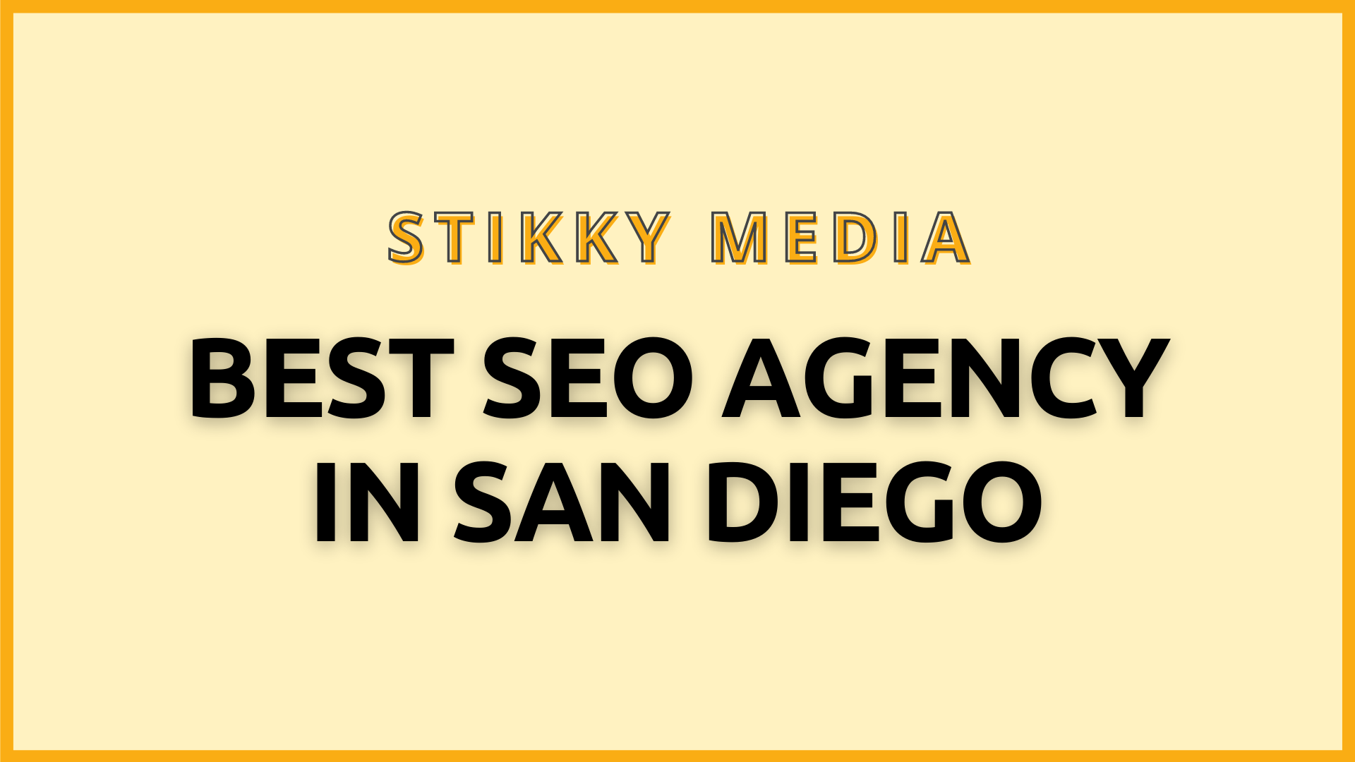 SEO services in San Diego - Stikky Media