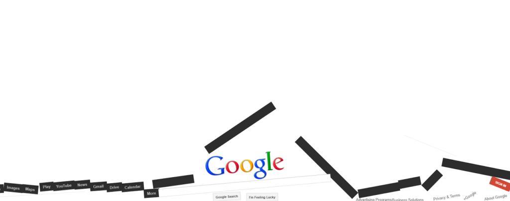 Google gravity trick