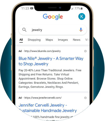 google search ads graphic - Stikky Media