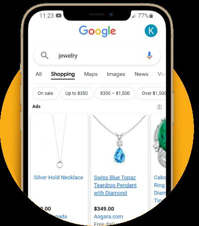google shopping ads graphic - Stikky Media