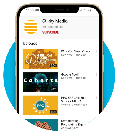 social video photo graphic - Stikky Media