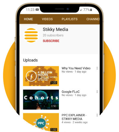 video photo graphic - Stikky Media