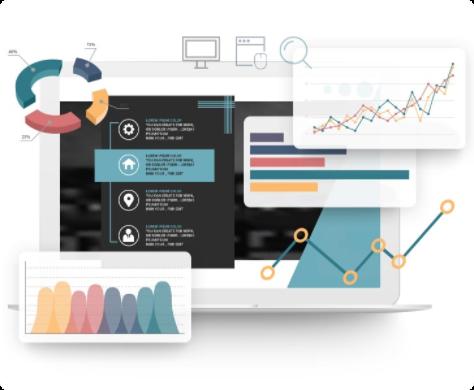free marketing evaluation graphic Mask - Stikky Media